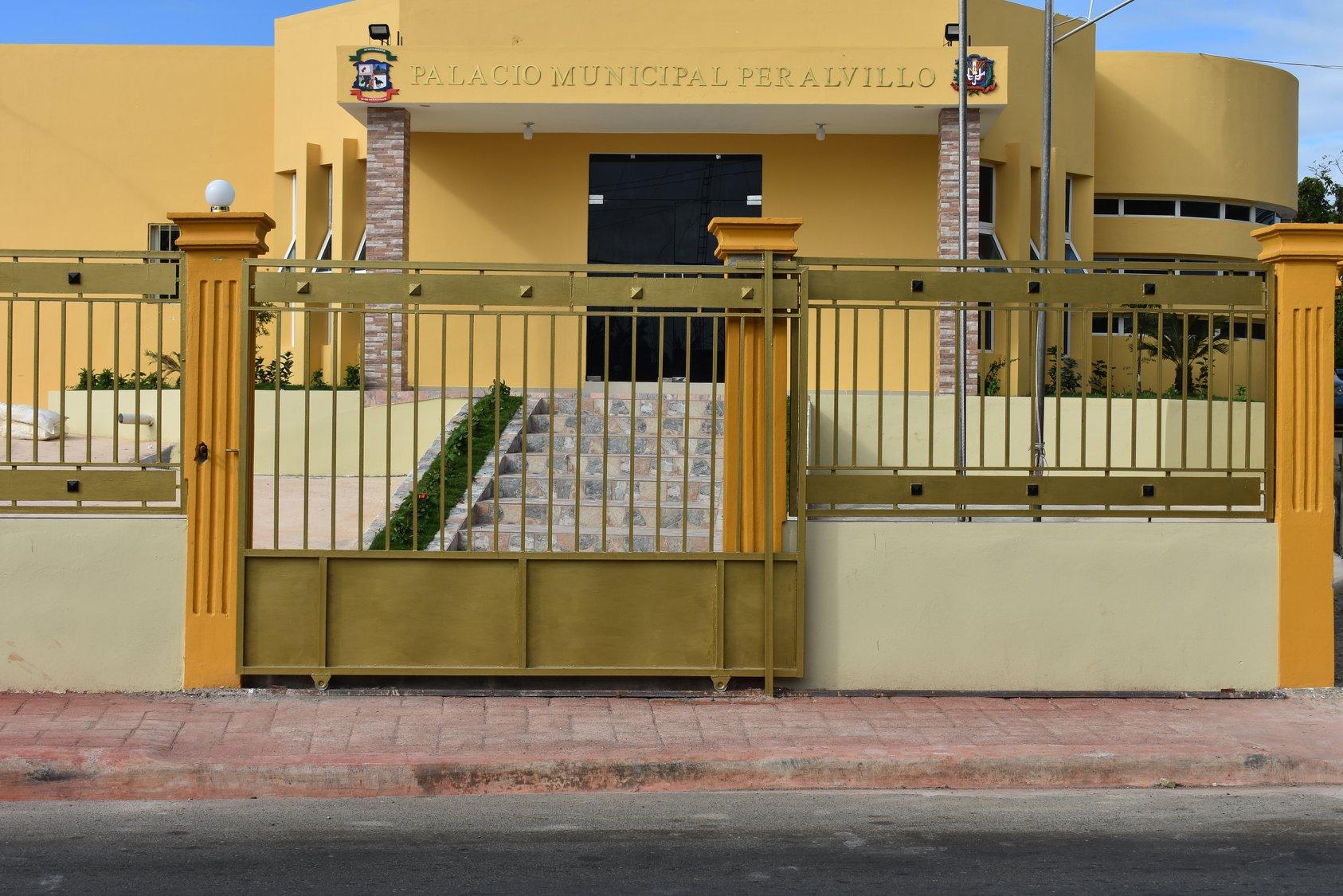 Inauguración Del Palacio Municipal De Peralvillo